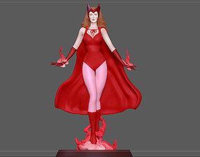 WANDA SCARLET WITCH HALLOWEEN COSTUME 3D printable model 3