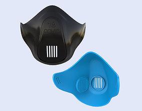 corona COVID 19 Mask 3D Printing Model