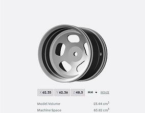 PRINT Vintage Mag Wheel for RC trucks 3D printable model 1