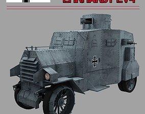 EHRARDT E-V 4 ARMOURED CAR 3D