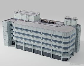 architectural 2000 Broadway Building 3D model