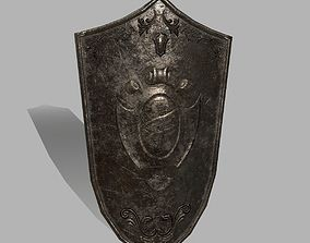 3D model low-poly rome Shield