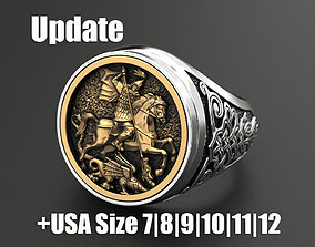Ring St George 3D print model