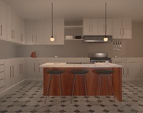 3D PBR Kitchen Set