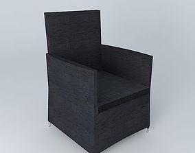 IBIZA Armchair houses the world 3D model
