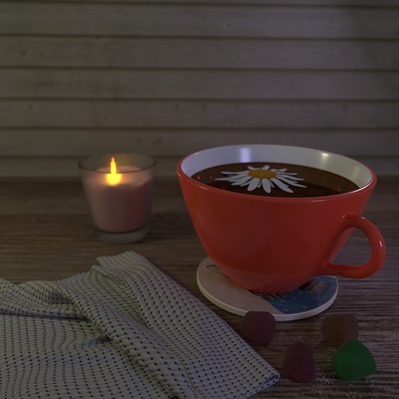 Evening cup of tea