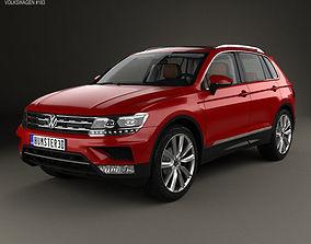 Volkswagen Tiguan with HQ interior 2015 3D model