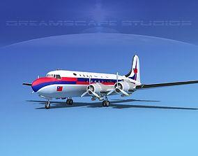 3D Douglas DC-4 Civil Air Transport China