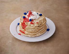 3D model game-ready Pancakes