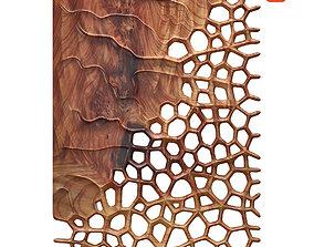 3D Organic wall hanging