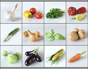 3D Vegetables Collection