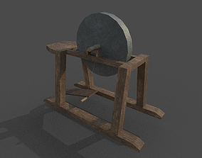 3D model game-ready Grindstone