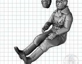 Soviet Female Pilot 3D print model