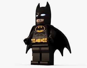 Lego Batman Low poly 3D asset