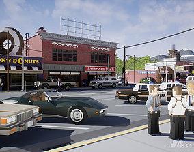 3D model Assetsville Town
