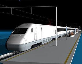 High speed train 3D