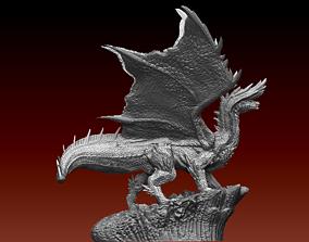 Monster Hunter Alatreon statue 3D model