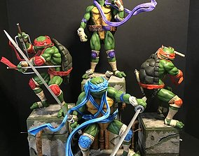 Fan Art - TMNT Diorama Set 3D printable model