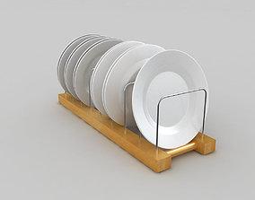 3D model Plate Rack