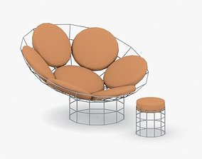 0687 - Chair 3D model game-ready