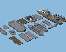 3D model Imperial Japanese Navy For the Background 2