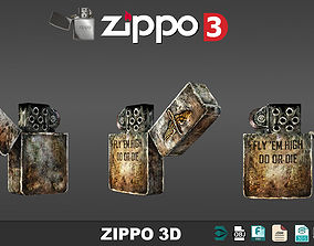 Zippo 3D models low poly