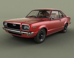 Mazda 818 Grand Familia Coupe UK spec 3D model