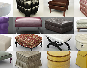Collection different types poufs for your projects 95
