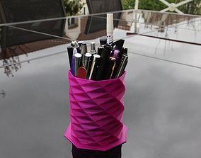 Pencil holder 3D print model
