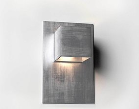 Carre Wall Lamp rectangular 3D model