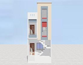 Exterior Elevation 3D asset