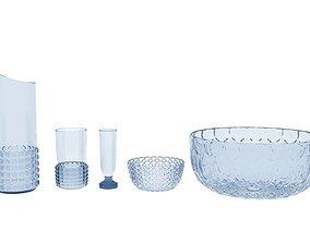 kartell jellies family plates 3D