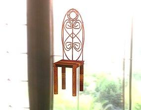 3D model Artificial classic chair
