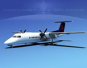DeHavilland DHC-8-Q300 Air BC 3D