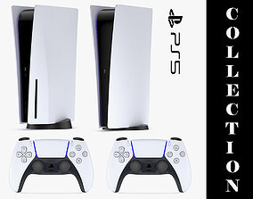 3D model Playstation Collection 1