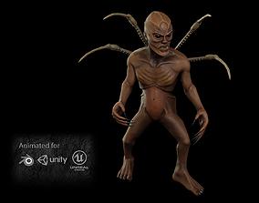 Alien Sorcerer 3D model