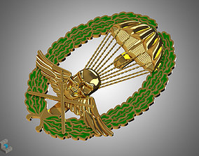 3D printable model Royal Hungarian Army Parachutist Skill
