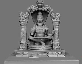 3D print model Lakshmi Narasimha statue replica