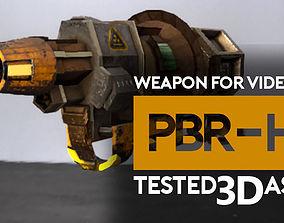 3D asset Weapon gun Radiation or Acid