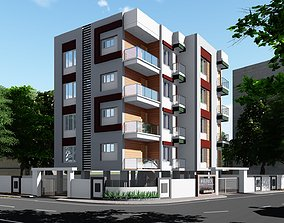 Apartment trees 3D