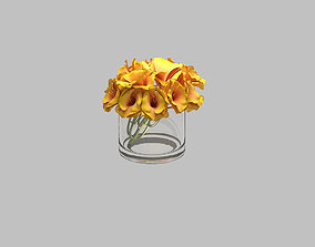 Cup flower 3D
