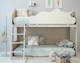 3D model furniture Bed 1