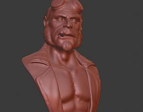 3D print model figurines Hellboy