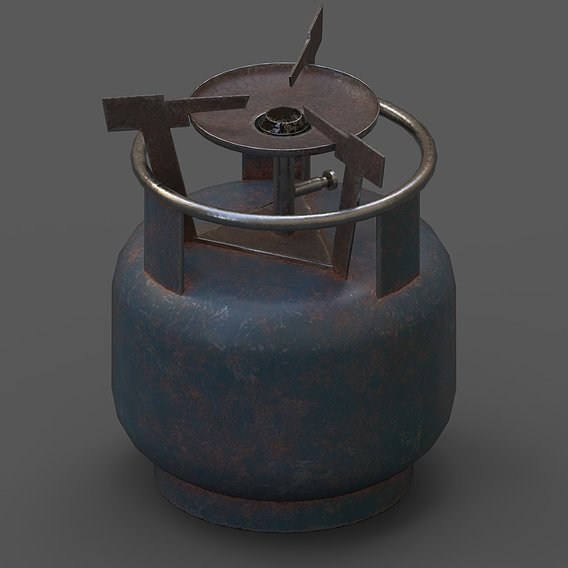 Lowpoly Pbr Game Ready Picnic Tube
