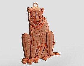Monkey Necklace 3D print model