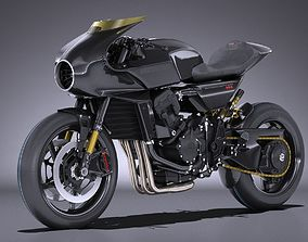 3D Honda CB4 Interceptor 2018