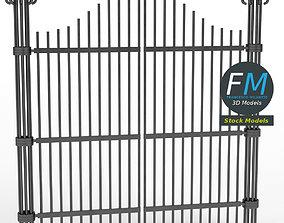 Iron gate 1 3D
