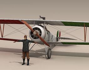 3D model Nieuport 17 Baracca 1