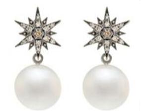 3D printable model Stern earrings