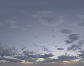 3D Skydome HDRI - Midnight Sun